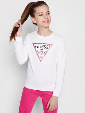 Guess Guess Sweatshirt J74Q10 K5WK0 Weiß Regular Fit