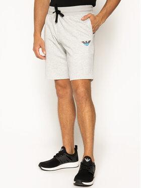 Emporio Armani Underwear Emporio Armani Szövet rövidnadrág 111004 0P571 00048 Szürke Regular Fit