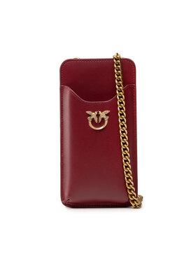 Pinko Pinko Дамска чанта I Phone Case Simply AI 21-22 PLTT 1P22ES Y6XT Бордо