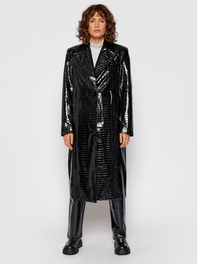 ROTATE ROTATE Kabát pro přechodné období Eliane Coat RT551 Černá