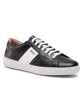 Boss Boss Sneakersy Olga Low Cut Mix 50447447 10201909 01 Czarny