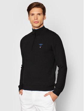 Aeronautica Militare Aeronautica Militare Sweater 212MA1343L415 Fekete Regular Fit