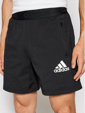 adidas adidas Športové kraťasy Designed To Move Motion AEROREADY GM2094 Čierna Regular Fit