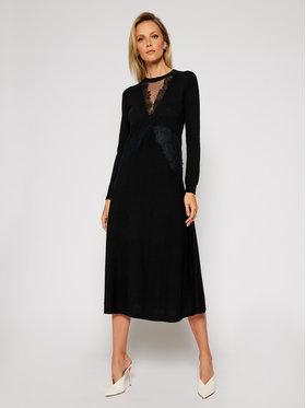 TWINSET TWINSET Φόρεμα υφασμάτινο 202TT3130 Μαύρο Regular Fit