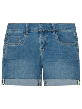 NAME IT NAME IT Pantaloncini di jeans 13193010 Blu scuro Slim Fit