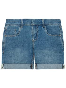 NAME IT NAME IT Szorty jeansowe 13193010 Granatowy Slim Fit