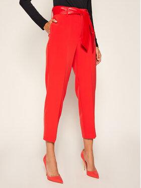 Guess Guess Pantaloni din material Hope W0YB42 WB4H2 Roșu Regular Fit