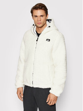 Kappa Kappa Báránybőr kabát Jow 310018 Fehér Regular Fit