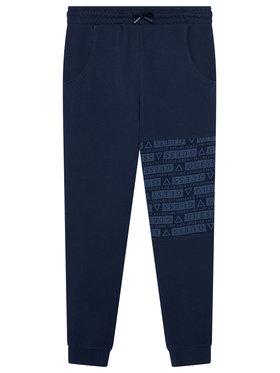 Guess Guess Teplákové kalhoty L1YQ11 KA6R0 Tmavomodrá Regular Fit