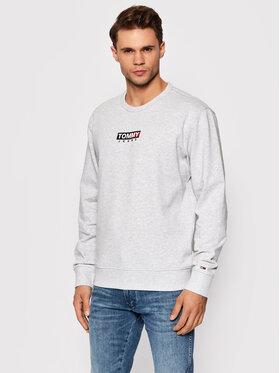Tommy Jeans Tommy Jeans Sweatshirt Entry Graphic Crew DM0DM11627 Grau Regular Fit