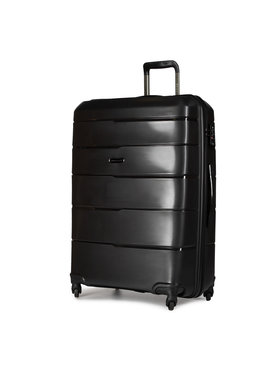 Puccini Puccini Nagy kemény borítású bőrönd Bahamas PP016A 1 Fekete