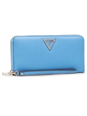 Guess Guess Veľká dámska peňaženka Becca (VG) Slg SWVG77 42460 Modrá