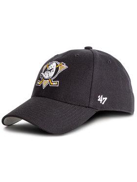 47 Brand 47 Brand Czapka z daszkiem Nhl Anaheim Ducks MVP25WBV Czarny