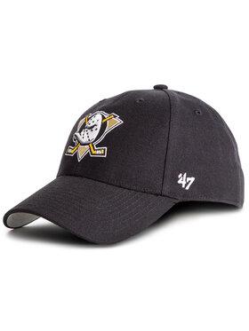 47 Brand 47 Brand Шапка с козирка Nhl Anaheim Ducks MVP25WBV Черен