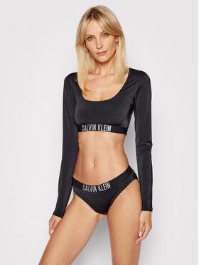 Calvin Klein Swimwear Calvin Klein Swimwear Горнище на бански Intense Power KW0KW01560 Черен
