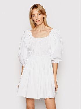 Patrizia Pepe Patrizia Pepe Ljetna haljina 2A2202/A9B9-W103 Bijela Regular Fit