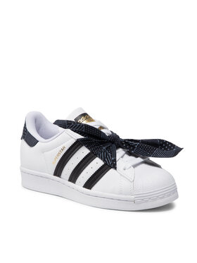 adidas adidas Pantofi Superstar J Q47378 Alb