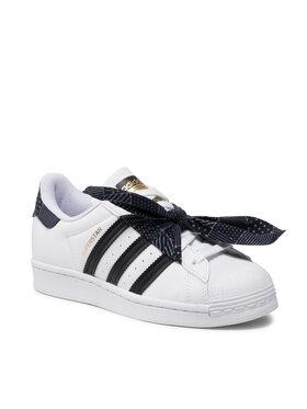 adidas adidas Scarpe Superstar J Q47378 Bianco