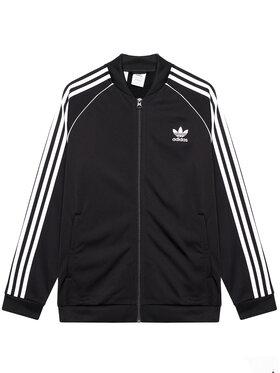 adidas adidas Bluză Sst Track GN8451 Negru Standard Fit
