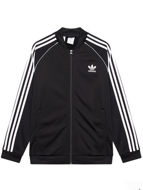 adidas adidas Pulóver Sst Track GN8451 Fekete Standard Fit