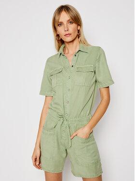 Pepe Jeans Pepe Jeans Salopetă Tory PL230336 Verde Regular Fit