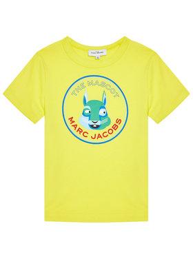 Little Marc Jacobs Little Marc Jacobs T-shirt W25464 D Jaune Regular Fit
