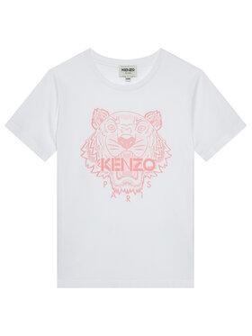 Kenzo Kids Kenzo Kids T-Shirt K15100 D Λευκό Regular Fit