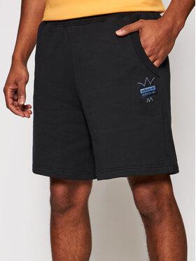 adidas adidas Pantaloni scurți sport R.Y.V. Abstract Trefoil GN3289 Negru Regular Fit