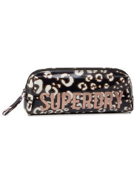 Superdry Superdry Κασετίνα Jelly Pencil Case W9810025A Καφέ