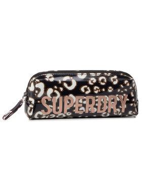 Superdry Superdry Penál Jelly Pencil Case W9810025A Hnědá