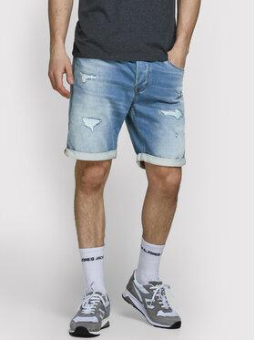Jack&Jones Jack&Jones Kratke traperice Rick 12166272 Plava Regular Fit