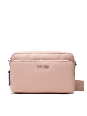 Calvin Klein Calvin Klein Дамска чанта Ck Must Camera Bag W/Pckt Lg K60K608410 Розов