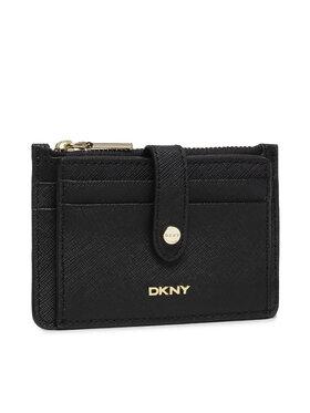 DKNY DKNY Etui za kreditne kartice Thomasina Zip Cardho R13Z1P74 Crna