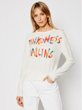 Pinko Pinko Sweater Scuderia PE 21 BLK01 1G1602 Y727 Bézs Regular Fit