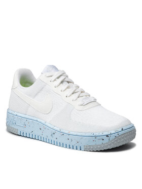 Nike Nike Scarpe Af1 Crater Flyknit DC7273 100 Bianco