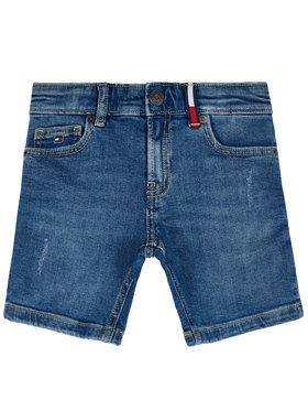 Tommy Hilfiger Tommy Hilfiger Pantaloni scurți de blugi Steve KB0KB05573 M Bleumarin Tapered Fit