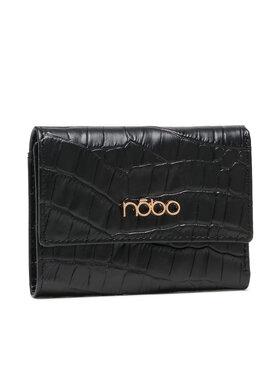 Nobo Nobo Малък дамски портфейл NPUR-LI0031-C020 Черен