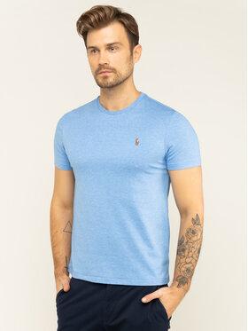 Polo Ralph Lauren Polo Ralph Lauren Marškinėliai 710740727 Mėlyna Slim Fit