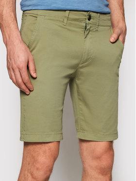 Pepe Jeans Pepe Jeans Szövet rövidnadrág Mc Queen PM800227 Zöld Regular Fit