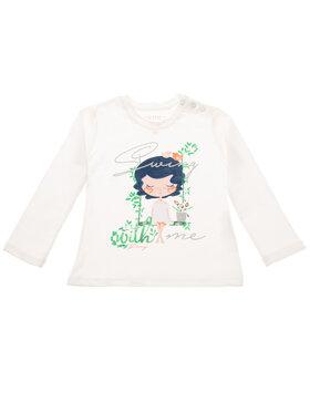 Primigi Primigi Блуза Flower Market 43211522 Бял Regular Fit