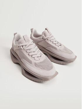 Mango Mango Sneakersy Iconic 17094031 Różowy