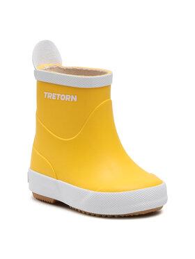 Tretorn Tretorn Kalosze Wings Kids 473267 Żółty