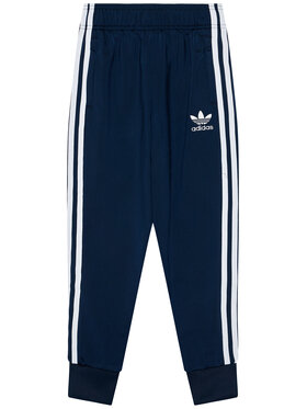 adidas adidas Spodnie dresowe adicolor Sst GN8454 Granatowy Regular Fit