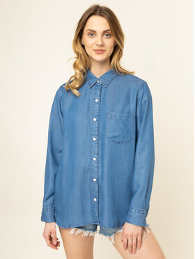 Levi's® Levi's Marškiniai The Ultimate 77653-0025 Mėlyna Boyfriend Fit