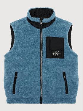 Calvin Klein Jeans Calvin Klein Jeans Vestă Reversible IB0IB00916 Negru Regular Fit