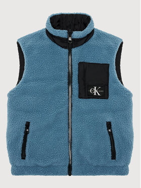 Calvin Klein Jeans Calvin Klein Jeans Weste Reversible IB0IB00916 Schwarz Regular Fit