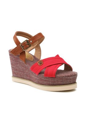Refresh Refresh Sandále 69908 Červená