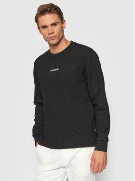 Calvin Klein Calvin Klein Суитшърт Lightweight K10K107338 Черен Regular Fit