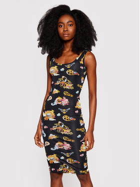 Versace Jeans Couture Versace Jeans Couture Kasdieninė suknelė D2HWA409 Juoda Slim Fit