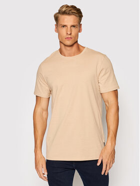 Outhorn Outhorn T-Shirt TSM609 Beżowy Regular Fit